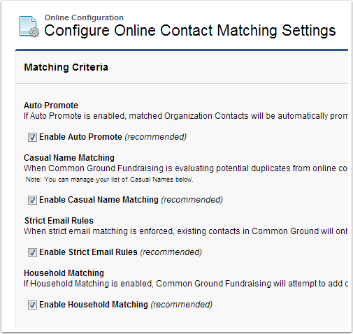 CGContactMatching
